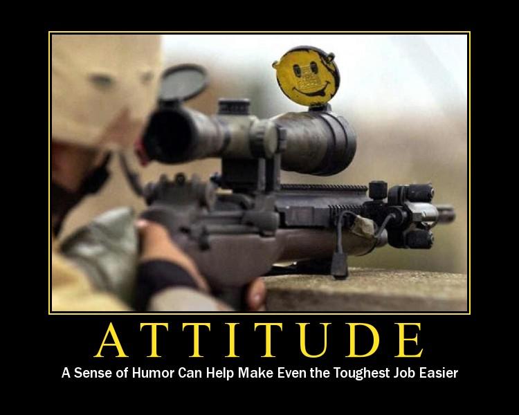 It's a tough job... Attitude-poster